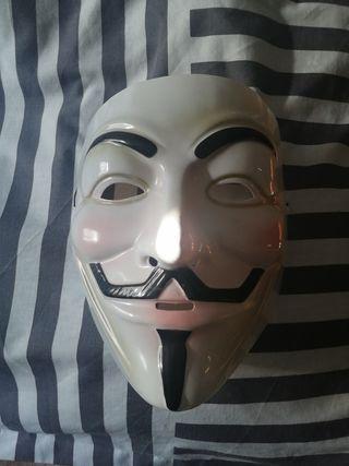 Máscara Anonymous (Vendetta)