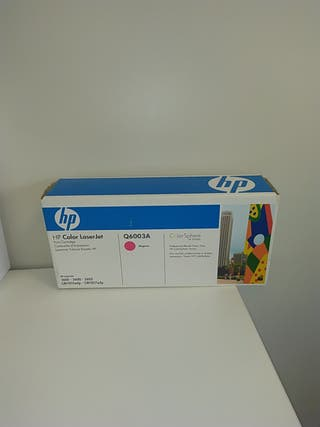 Cartucho de Tóner Q6003A Magenta HP