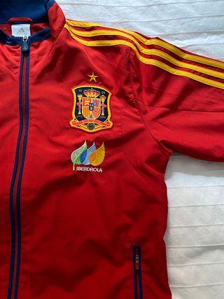 Chaqueta de chandal selección española de futbol