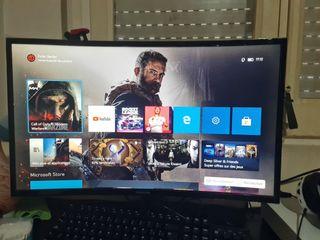 pantalla ordenador o vídeo game