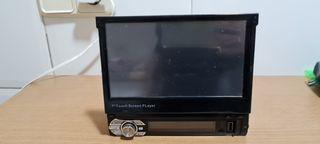 radio para coche con pantalla de video