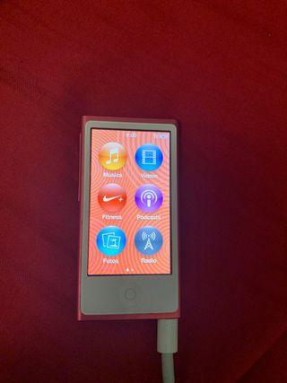 Ipod nano 7G Rosa metalizado