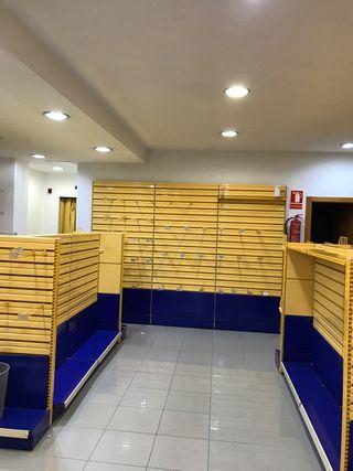 Mobiliario de montaje de tienda y exposición