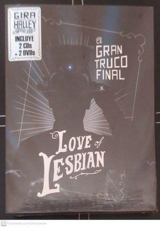 LOVE OF LESBIAN (EL GRAN TRUCO FINAL) 2 CD + 2 DVD