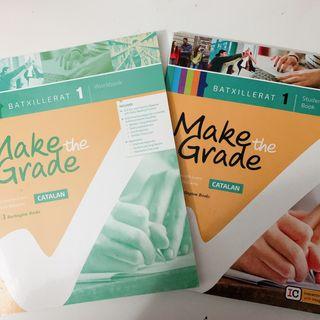 Libros ingles Make The Grade primero bachillerato