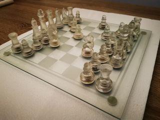 ajedrez transparente