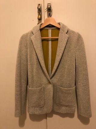 Americana gris Zara
