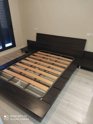 dormitorio tatami japonés + somier
