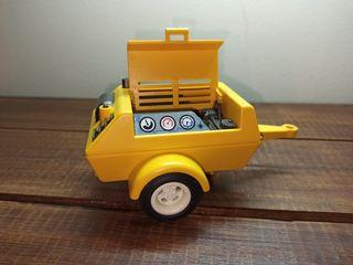 playmobil compresor obra construcción