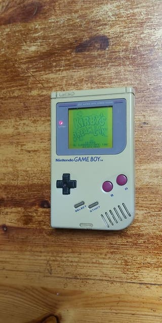 game boy DMG-01 1989 nintendo clasica