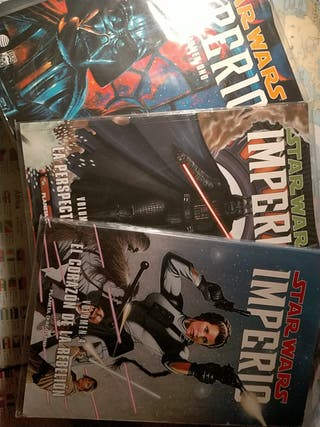 Star Wars IMPERIO Vol 1,3 y 4