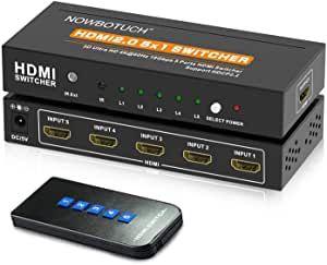 Conmutador HDMI 5 PUERTOS Premium · A estrenar