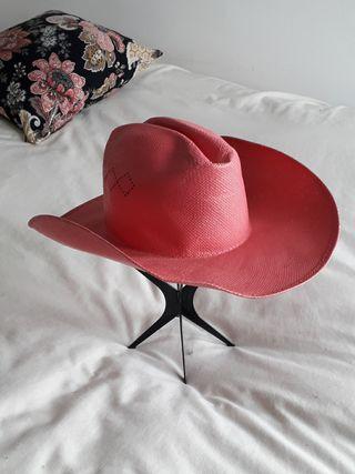 sombrero cowboy rosa
