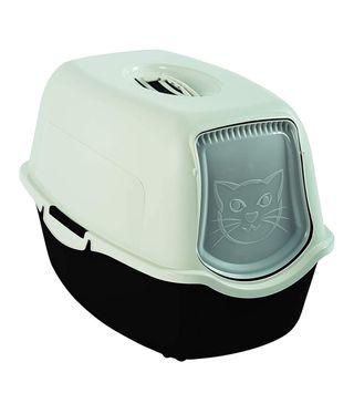 Caja de arena higiénica. Arenero gatos