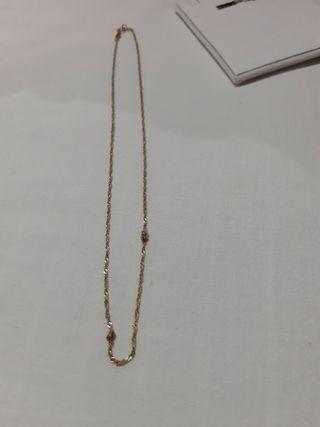 cadena oro de ley