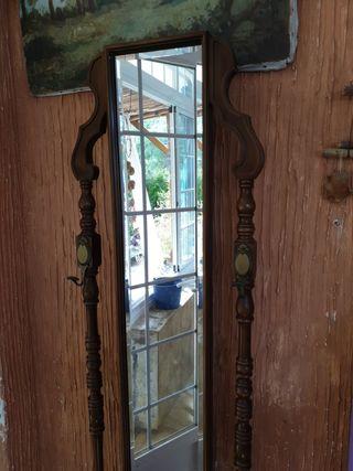 Espejo de pie antiguo