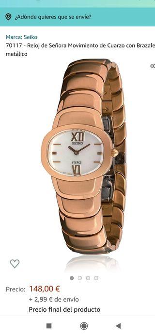 reloj Seiko Vivace mujer.