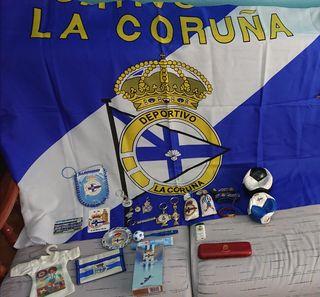 Lote cosas Deportivo de la Coruña