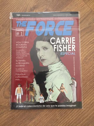 Revista the forcé especial carrie fisher Star wars