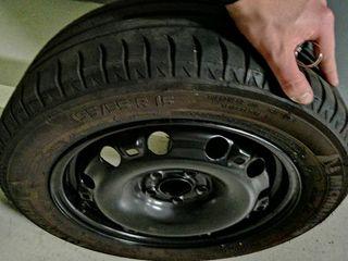 Neumático michelin energy saver con llanta