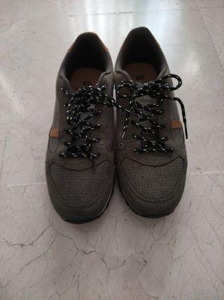 Zapatillas verde kaki un solo uso Silver