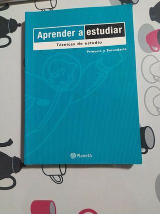Libro aprender a estudiar
