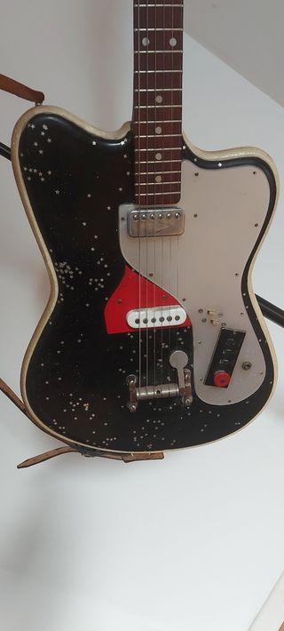 Guitarra Eléctrica Hofner D22S original años 60