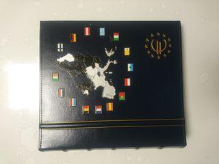 Álbum Leuchtturm colección EURO