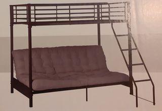 Litera con sofá/cama futón