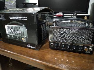 Set de amplificador Bugera a válvulas + altavoz