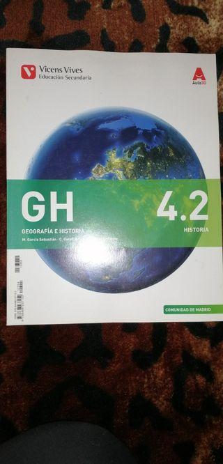 Libro Geografía e Historia 4.2