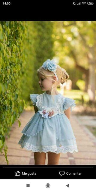 Vestido niña 3a a estrenar