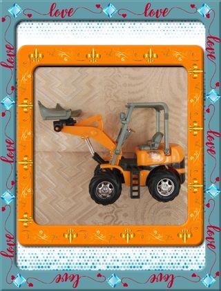 Tractor Pequeño de Juguete