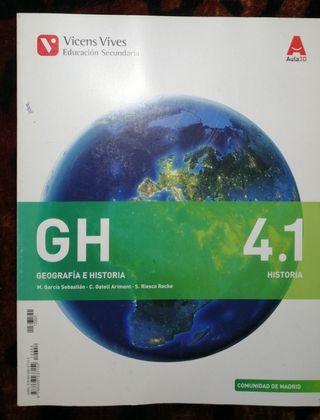 Libro Geografía e Historia 4.1