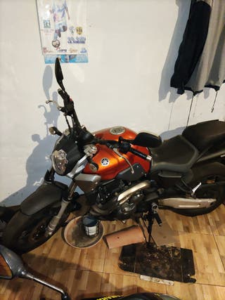 Yamaha fz6 650cc