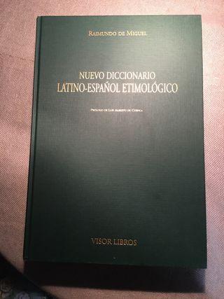 Nuevo diccionario latino español etimológico