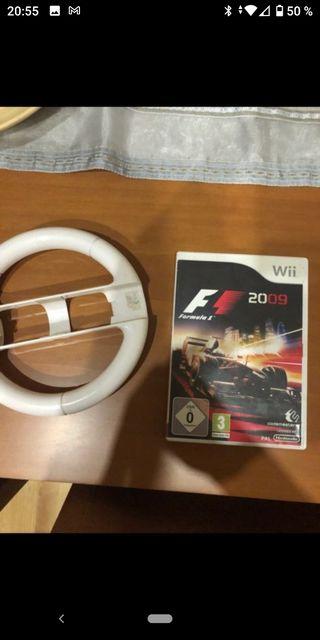 F1 + volante wii
