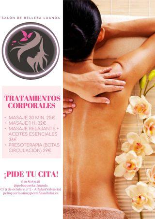 masages relajantes
