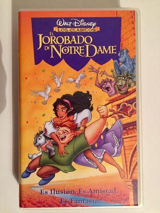 Película VHS Disney El Jorobado de Notre Dame