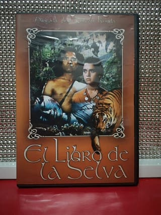 dvd el libro de la selva