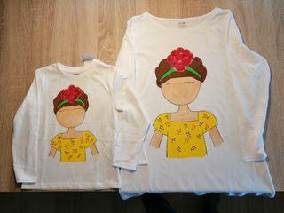 Pack camisetas madre e hija frida
