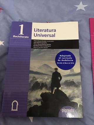Literatura Universal 1 Bachillerato Ed. Algaida