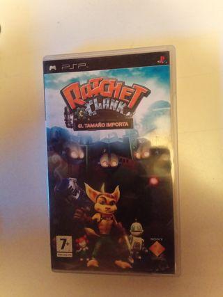 Ratchet & clank el tamaño no importa PSP