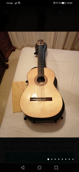 guitarra palo santo