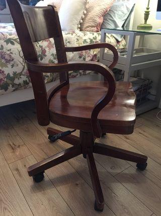Silla industrial vintage escritorio