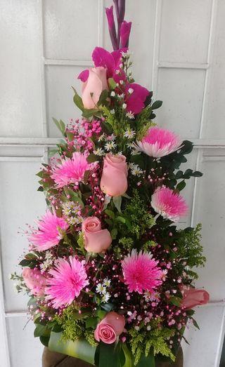 Ramos florales y jardines