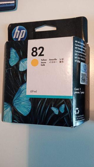 Cartuchos HP 82 originales para plotter HP