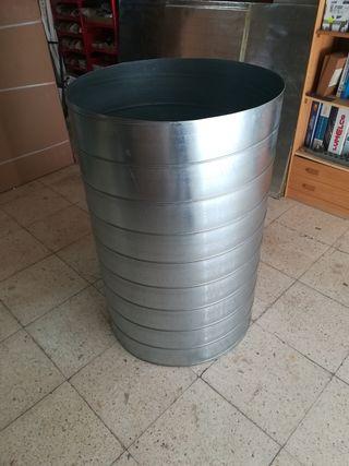 Tubo circular de chapa galvanizada