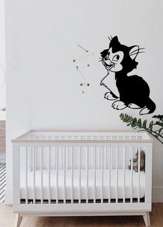 Vinilo Figaro gato