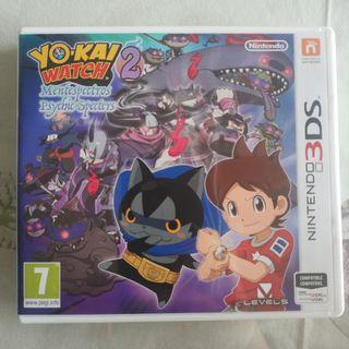 Juego Yo-kai Watch 2 para Nintendo 3DS